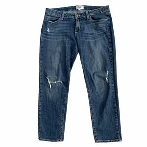 Paige Jimmy Jimmy Crop Distressed Kendall Wash